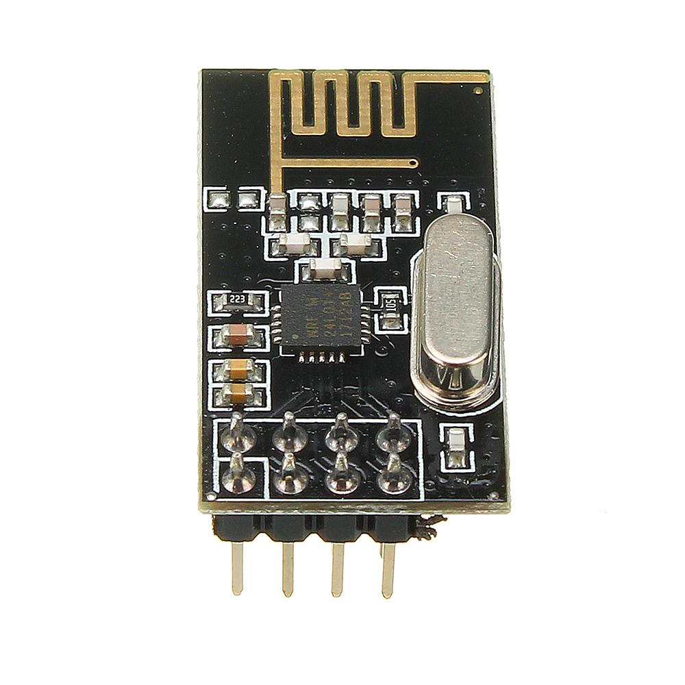 3Pcs NRF24L01+ SI24R1 2.4G Wireless Power Enhanced Communication Receiver Module
