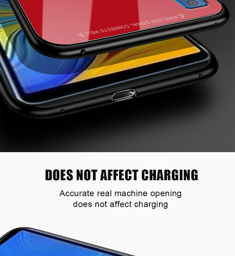 Bakeey Scratch Resistant Tempered Glass Protective Case For Samsung Galaxy A7 2018 / A9 2018