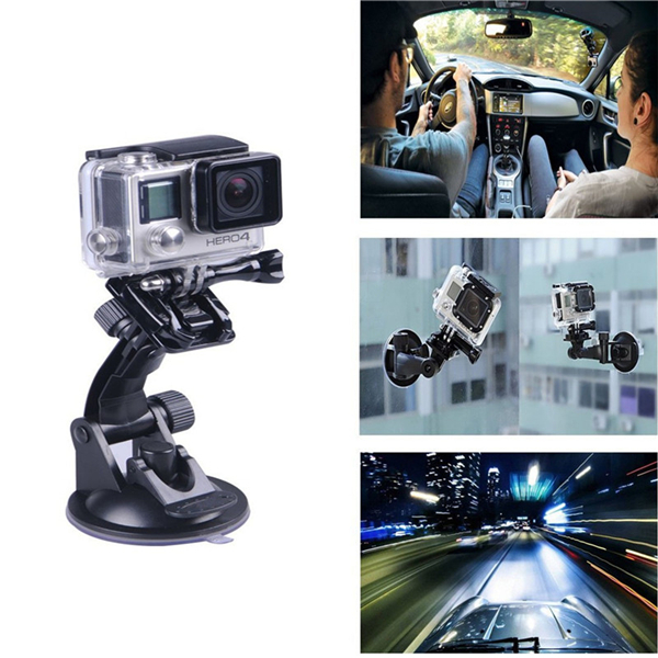4 In 1 Chest Head Strap Handlebar Suction Cup Mount Kit For GoPro Hero 2 3 4 3Plus Xiaomi Yi SJCAM Camera