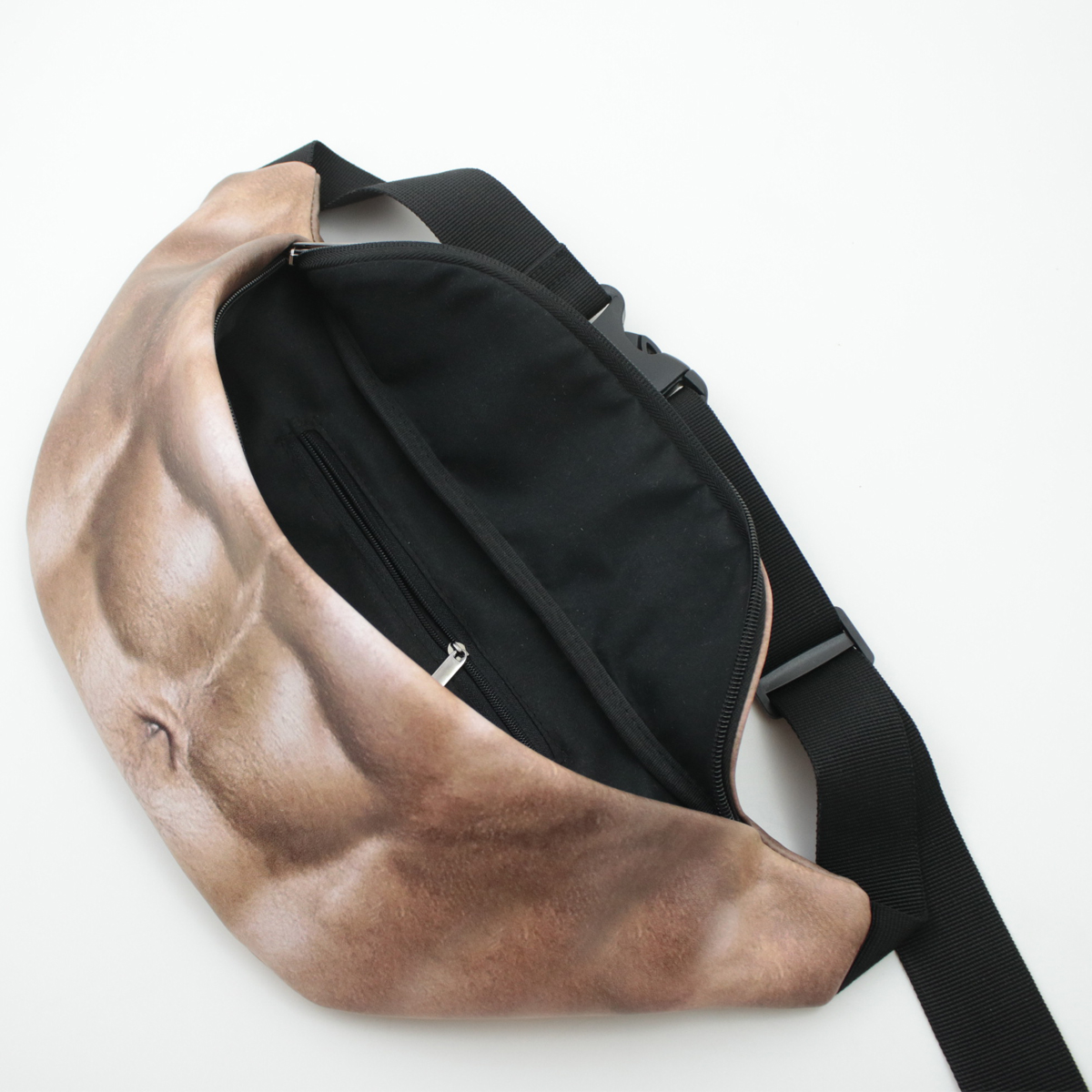 BIKIGHT Cycling Waist Bag Muscle Flesh Colored Beer Fat Belly Fanny Pocket Pack Fun