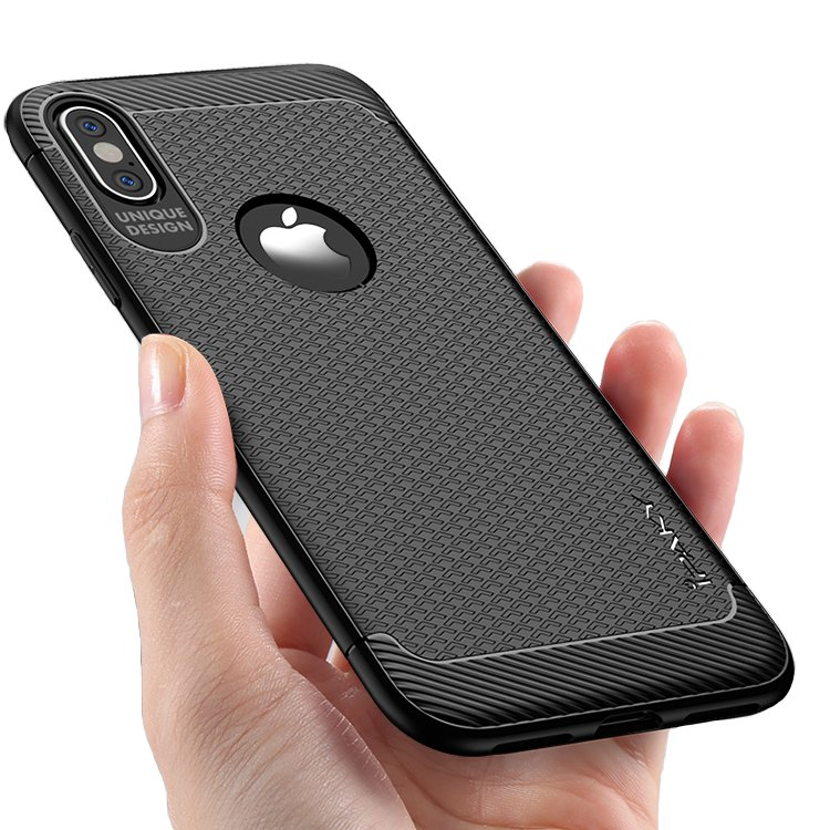 iPaky Anti Fingerprint Protective Case For iPhone X Sof