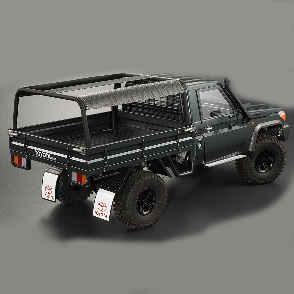 Stainless Truck Bed Roof Roll Cage ABS For KB#48667 Truck Bed Set RC Car Parts