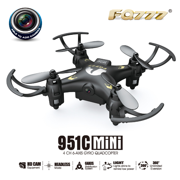 FQ777-951C MINI With 0.3MP Camera Headless Mode RC Quadcopter RTF