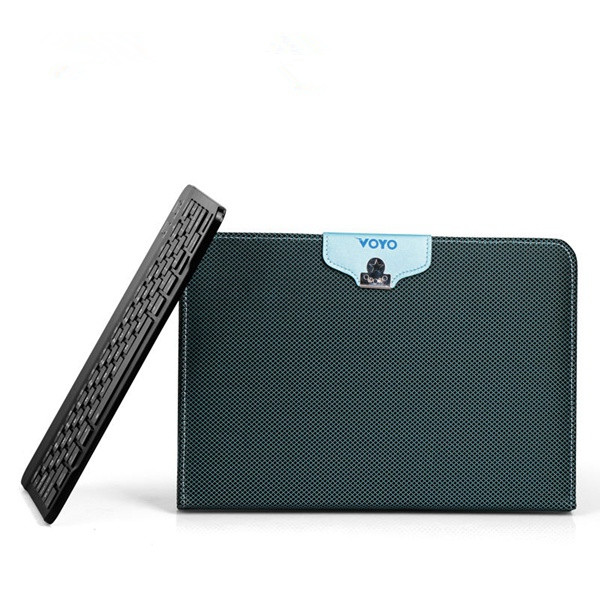 PU Leather Tablet Case With Bluetooth Keyboard For VOYO