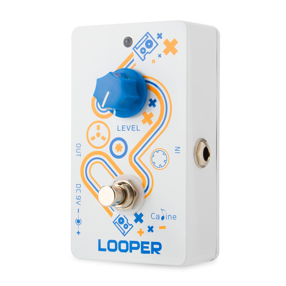 Caline CP-33 Looper Guitar Effects Pedal True Bypass Unlimited Recording Playback Function