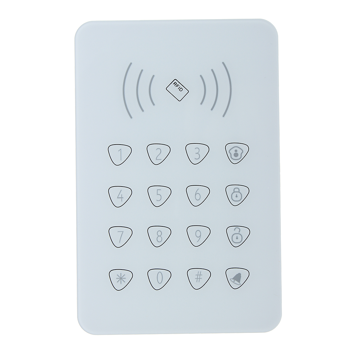 G90B Wireless RFID Alarm Sensor Keypad with Keys for WiFi GSM Home Security System Doorbell