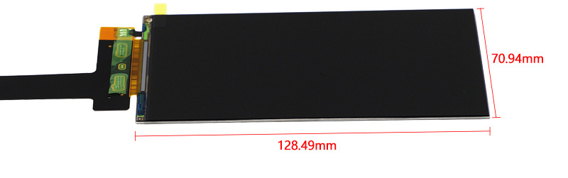 LS055R1SX04 5.5 inch 2560*1440 2K LCD Screen HDMI to MIPI Driver Controller Board For 3D SLA Printer NanoDLP Thingiverse TOS