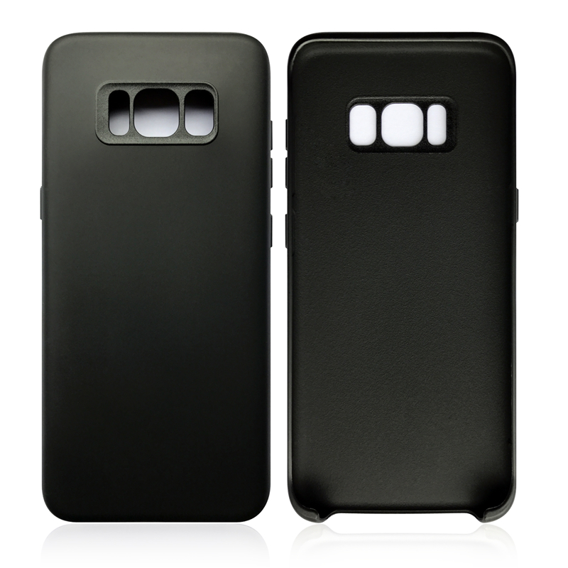 TPU PC Shockproof Anti-skid Protective Phone Case Cover for Samsung Galaxy S8