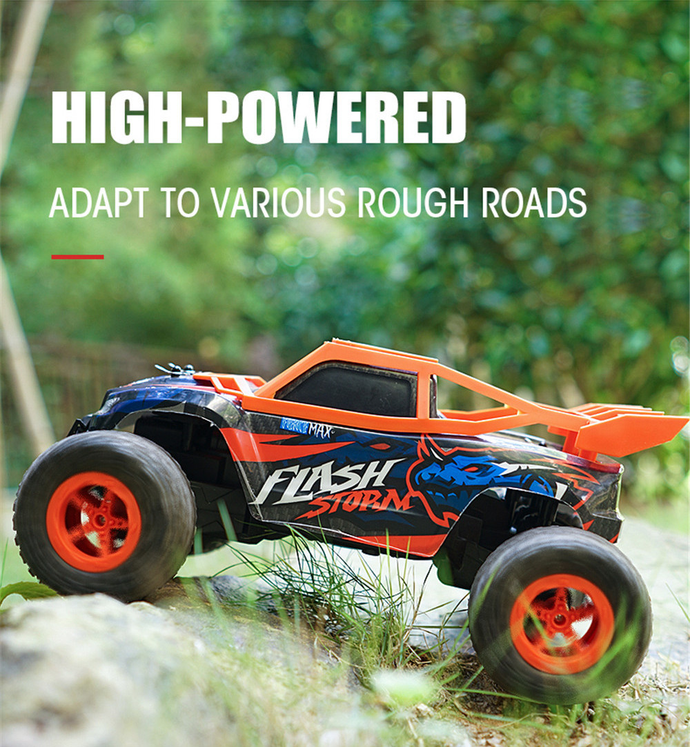 P162 P168 RTR 1/16 2.4G RWD RC Car Off-Road Vehicles Climbing Truck Model Kids Children Toys
