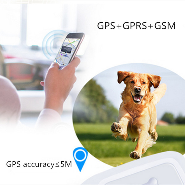 H01 Waterproof GPS+GPRS+GSM LED Light Tracker Locator Anti Theft Alarm for Kids Pet Car