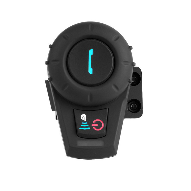 Motorcycle Helmet Intercom 500M Headset BT Interphone With bluetooth Function