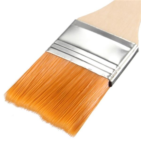 #4 Nylon Painting Brush Artists Acrylic Oil Paint Varnish Tool Art Supply