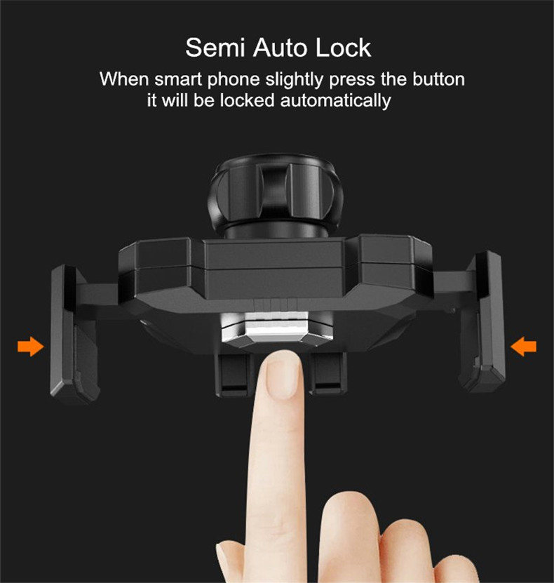 Bakeey™ Semi Auto Lock Stretchable Long Arm 360 Degree Rotation Car Phone Holder for Xiaomi