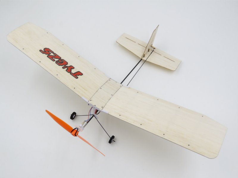 TY Model 3-2 370mm Wingspan Balsa Wood Laser Cut RC Airplane RTF