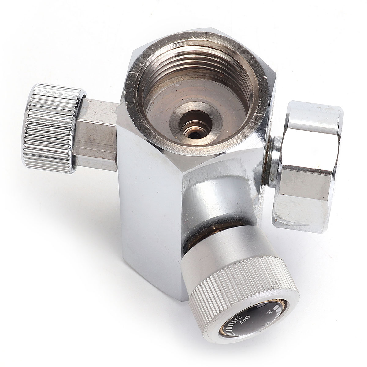 0-2000PSI Homebrew CO2 Cylinder Refill Adapter Connector DIN 477 W21.8 BS 34