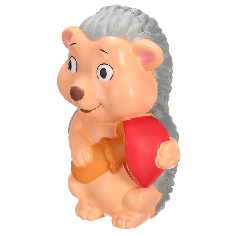 YunXin Squishy Hedgehog Jumbo 15cm Slow Rising With Packaging Collection Gift Decor Toy