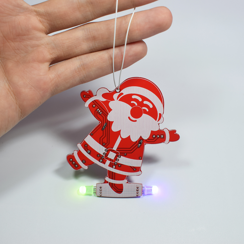 Geekcreit® DIY Santa Claus Christmas Tree Decoration Pendant Music Kit