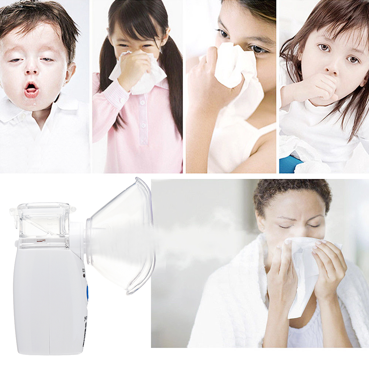 220V Portable Ultrasonic Nebulizer for Asthma and COPD 2