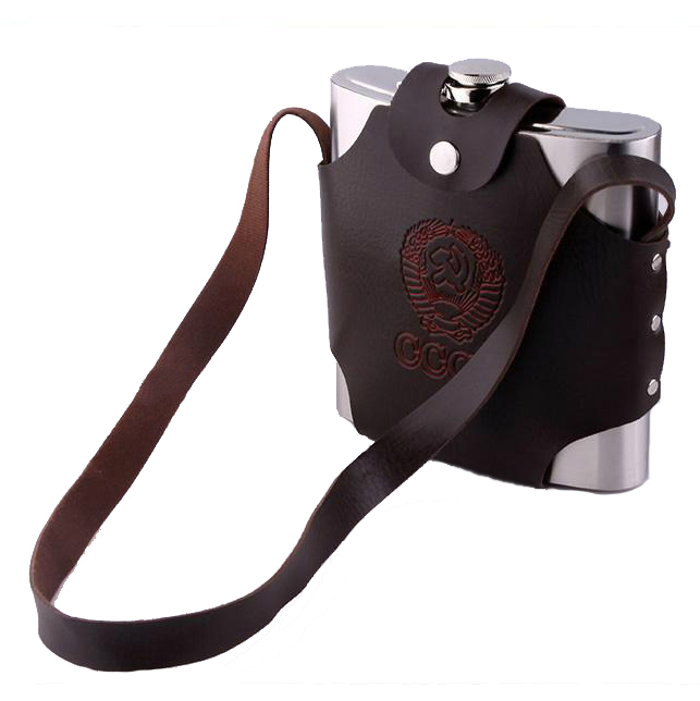 18oz(500ml) Hunting Stainless Steel Hip Flask Alcohol P