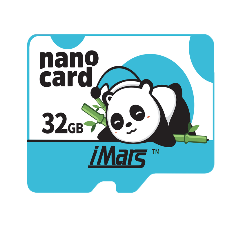 iMars 32G 64G 128G 256G Panda Style High Speed High Capacity Micro Memory Card