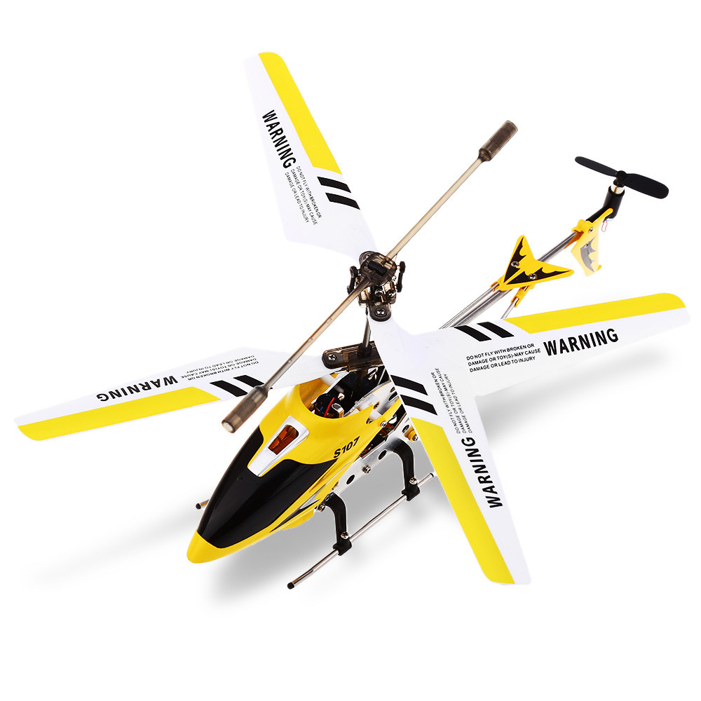 SYMA S107G 3CH Infrared Mini RC Helicopter With Gyro RTF - Photo: 7