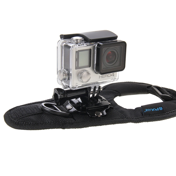 PULUZ 360 Degree Rotation Mount Holder Wrist Hand Strap Band for Gopro SJCAM Yi
