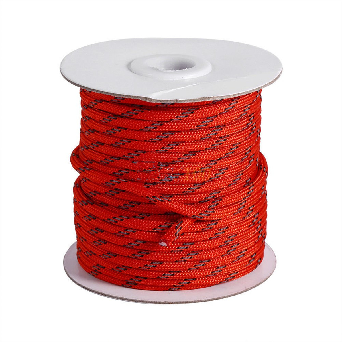 20M/65.62FT Camping Tent Sunshade Reflective Reel Rope Awning Paracord String Line 5mm