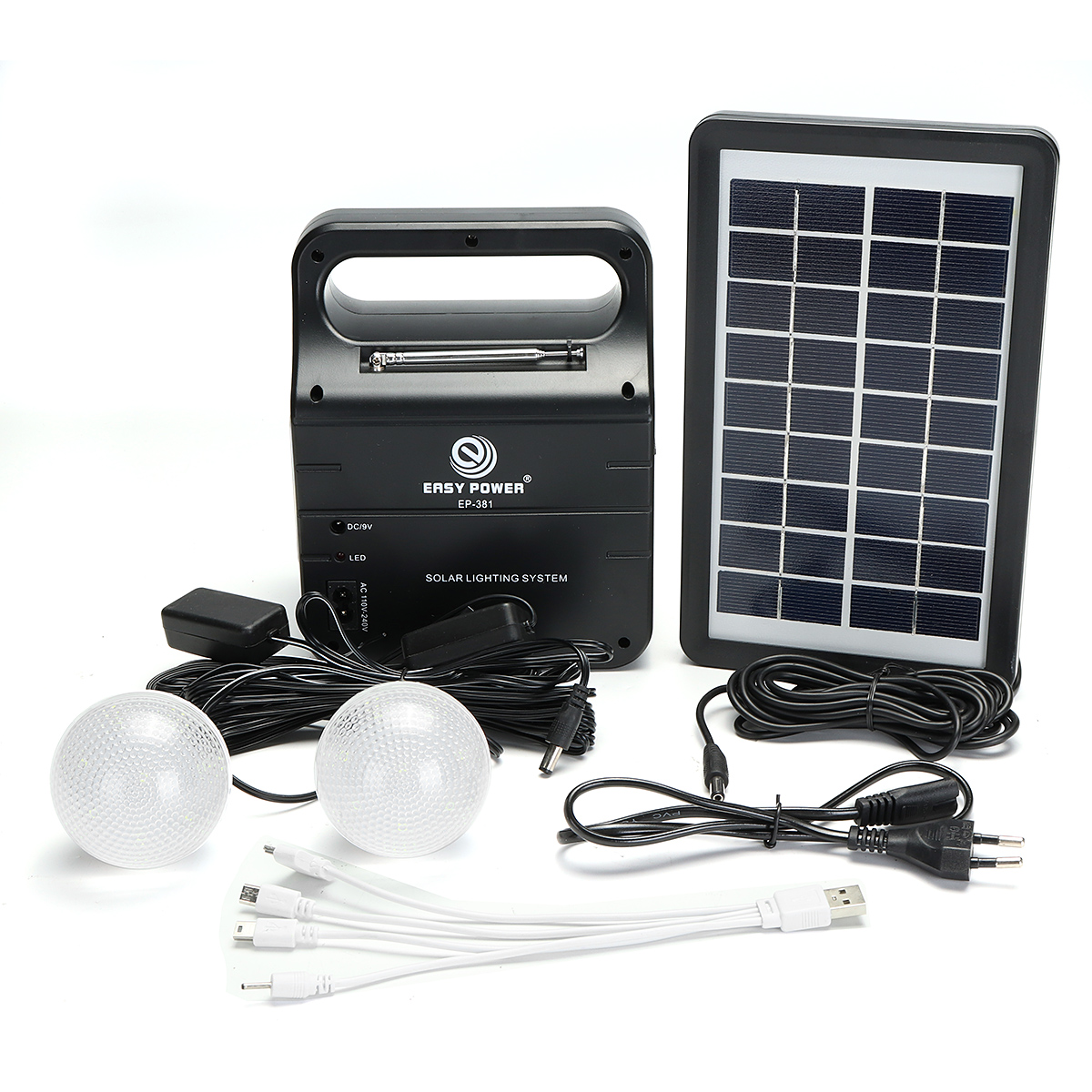 how to build a solar panel and generator system