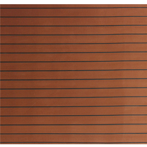 900x2300x5mm EVA Foam Faux Sheet Dark Brown EVA Imitation Teak Flooring Decking Sheet Pad