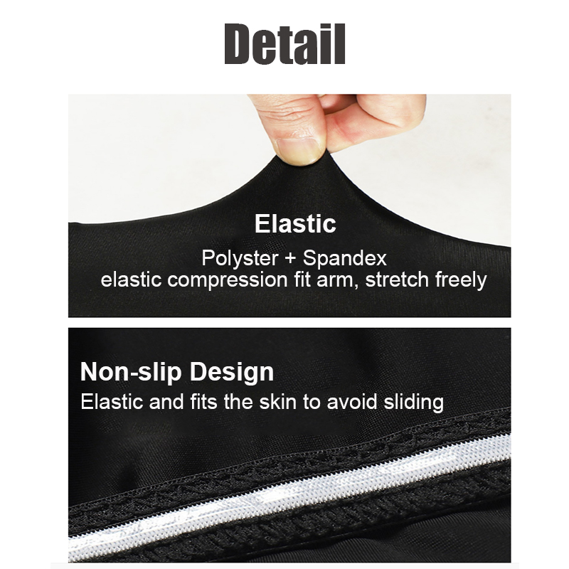 1 Pair Outdoor Sport Running UV Sun Protection Leg Cover Basketball Arm Sleeves Cycling Bicycle Arm Warmers Cuff Sleeve Cover