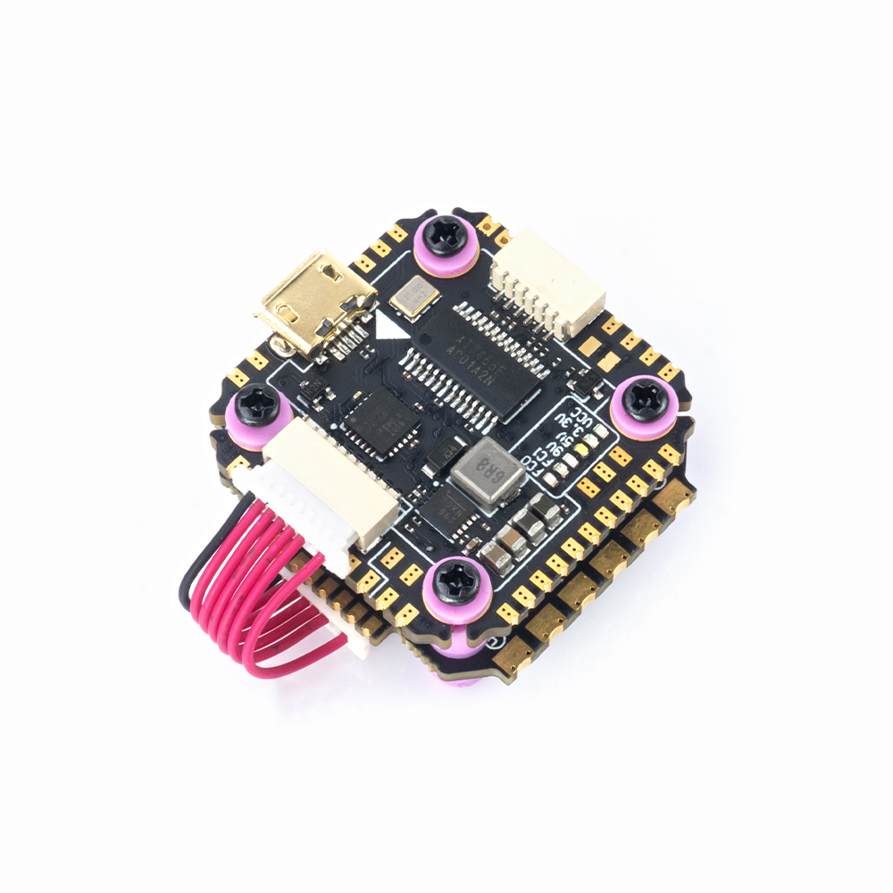 20x20mm MAMBA F722 3-6S F7 Flight Controller F40 PRO 40A Blheli_32 Brushless ESC Stack compatible DJI FPV Air Unit for RC Drone FPV Racing