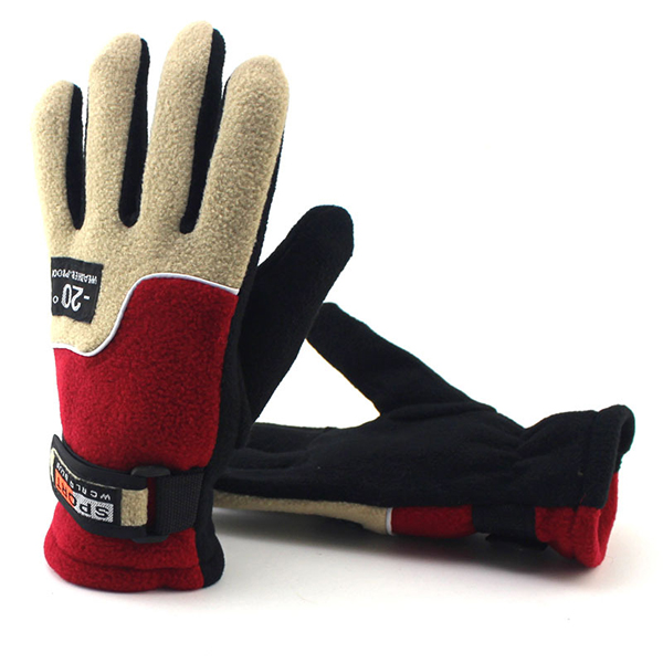 Men Women Winter Warm Gloves Climbing Riding Outdoor Windproof Anti-slip Ski Mittens