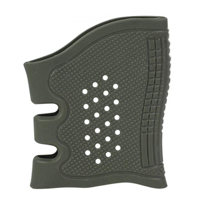 Tactical Rubber Gun Grip Glove Cover Sleeve Anti-slip GL Handguns Airsoft Holster Gun Accessories