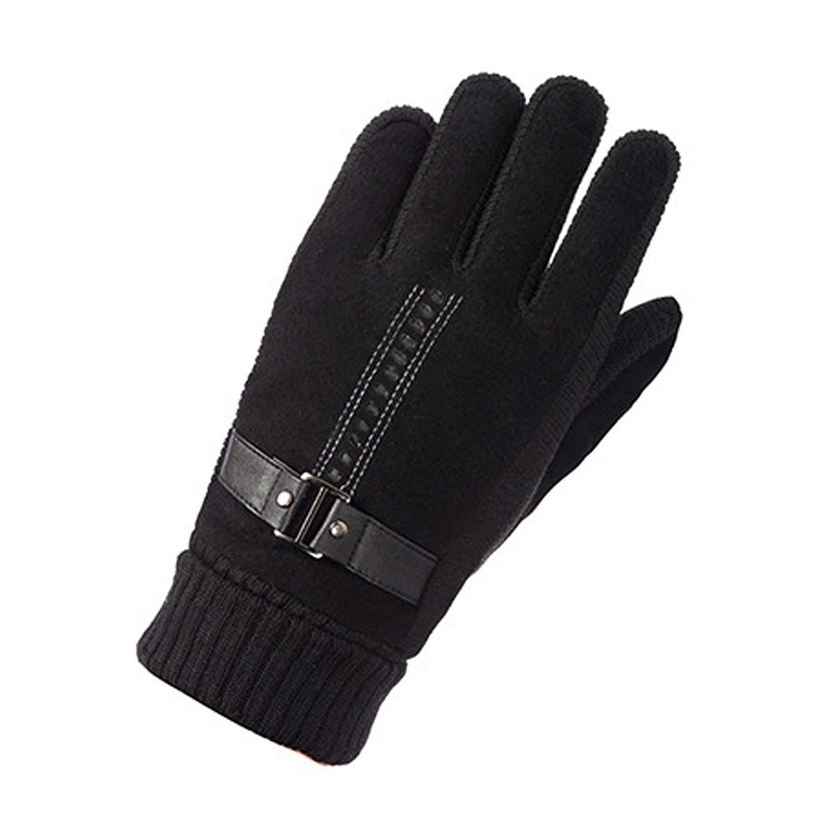 Winter Plush Inner Touch Screen Motorcycle Leather Gloves Camping Skiing Bicycle Driving Protective