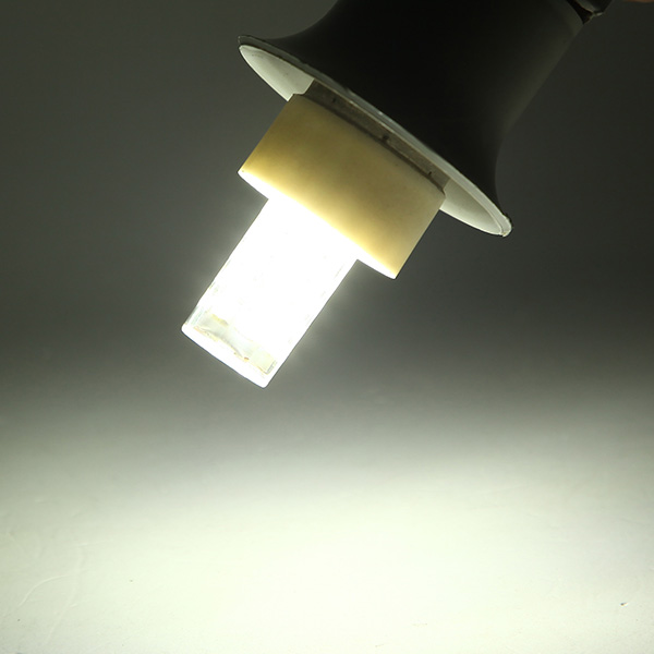 E14/G4 4W Dimmable LED Bulb 350lm 44 SMD Pure white/Warm White Corn Light Lamp AC 220-240V