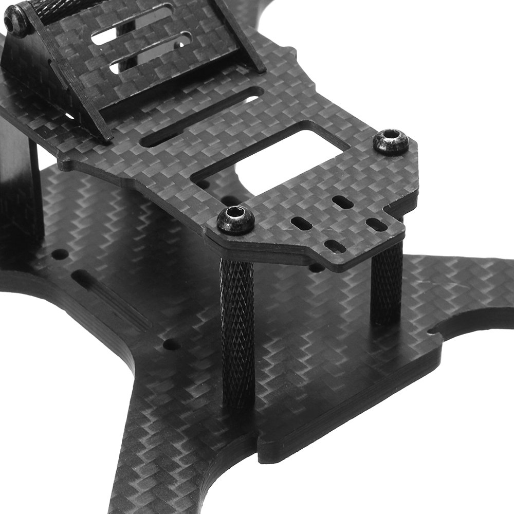 Realacc X210B 210mm Wheelbase 5mm Arm Carbon Fiber FPV Racing Frame Kit with 5V & 12V PDB Board