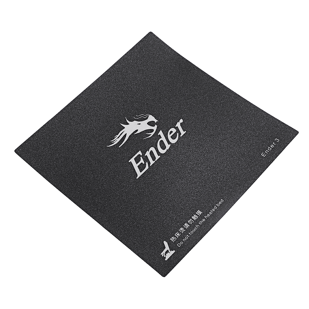 Creality 3D® 235*235mm Frosted Heated Bed Hot Bed Platform Sticker With 3M Backing For Ender-3 3D Printer Part