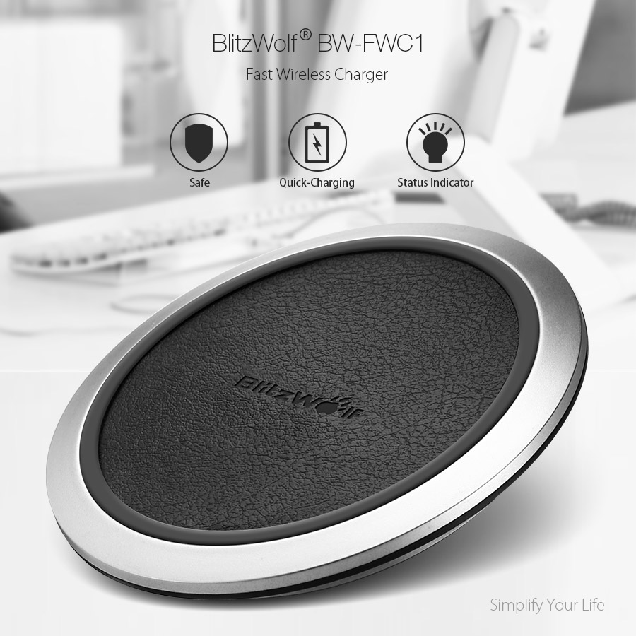 Blitzwolf Bw Fwc1 Fast Charge Qi Wireless Charger For Samsung S8 Country Clipper Wiring Diagram Compatibility