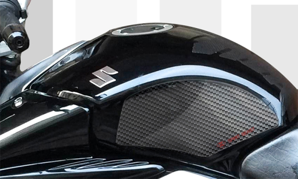 3D Motorcycle Tank Sticker Gel Oil Gas Decals Protector Carbon Fiber/Transparent For Suzuki GW250