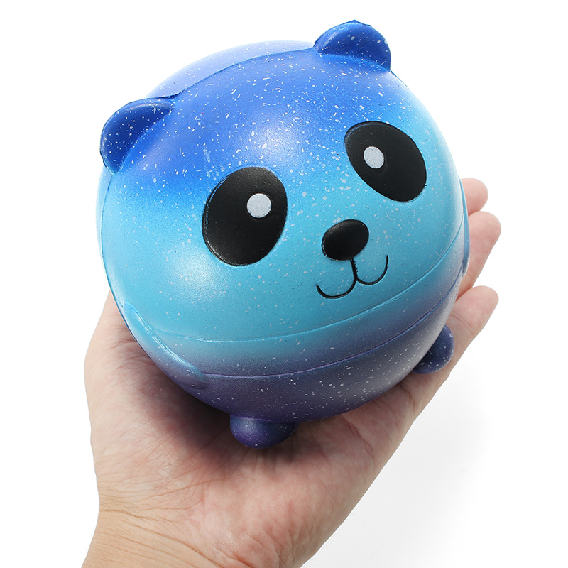 SquishyShop Panda Ball Doll Squishy 11cm Slow Rising With Packaging Collection Gift Decor Toy
