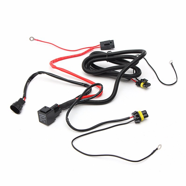 Wiring Harness Relay Kit For 9005 9006 H3 HB4 H10 9140 9145 Xenon HID Conversion
