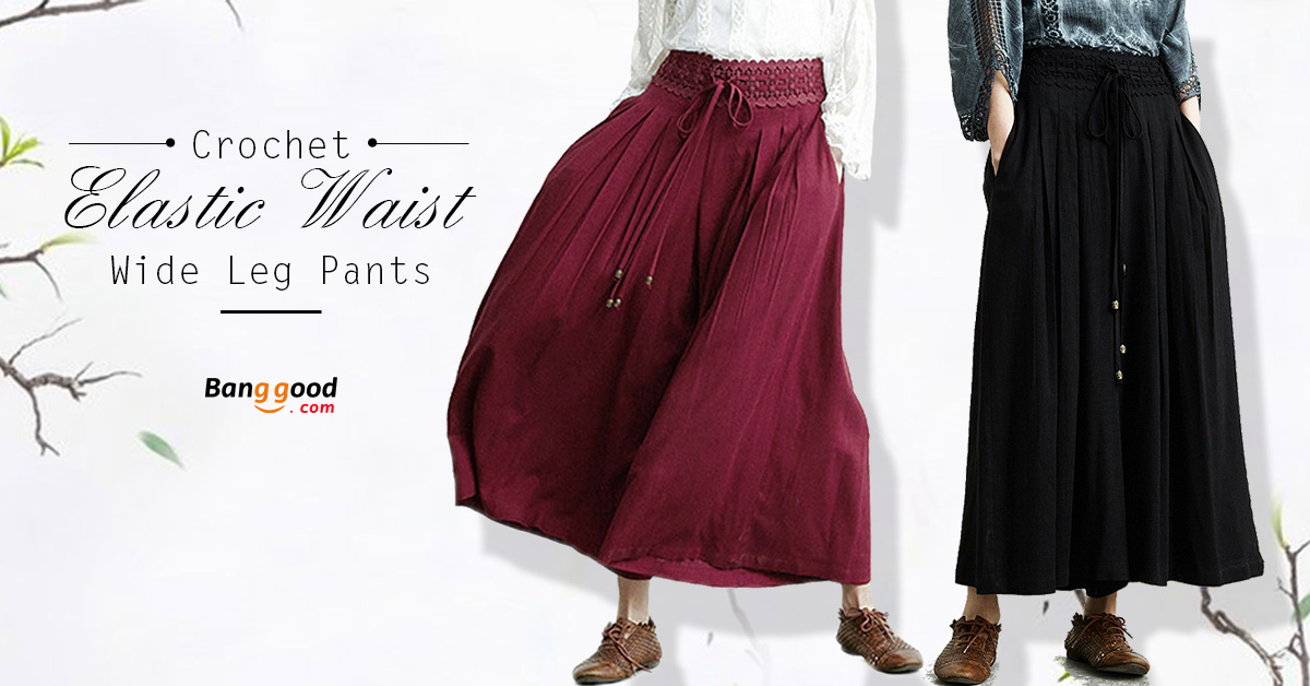 Loose Women Wide Leg Pants