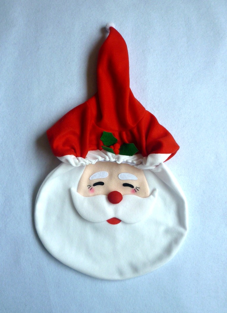 New Year Christmas Santa Toilet Seat Cover Set Bathroom Tissue Set Christmas Decorations for Home