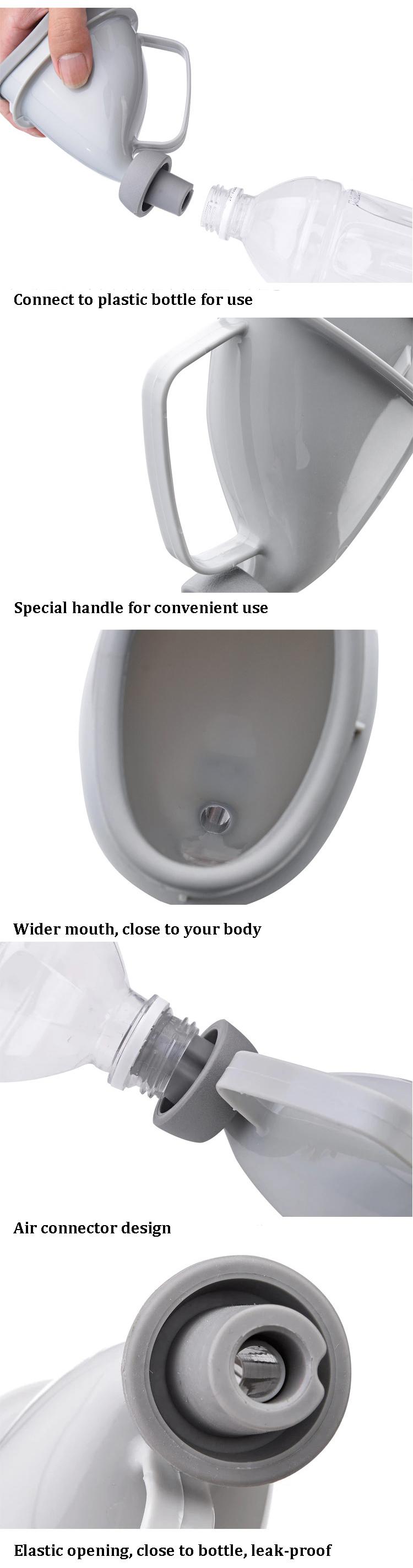 ipree portable erwachsene urinal unisex t pfchen pee. Black Bedroom Furniture Sets. Home Design Ideas