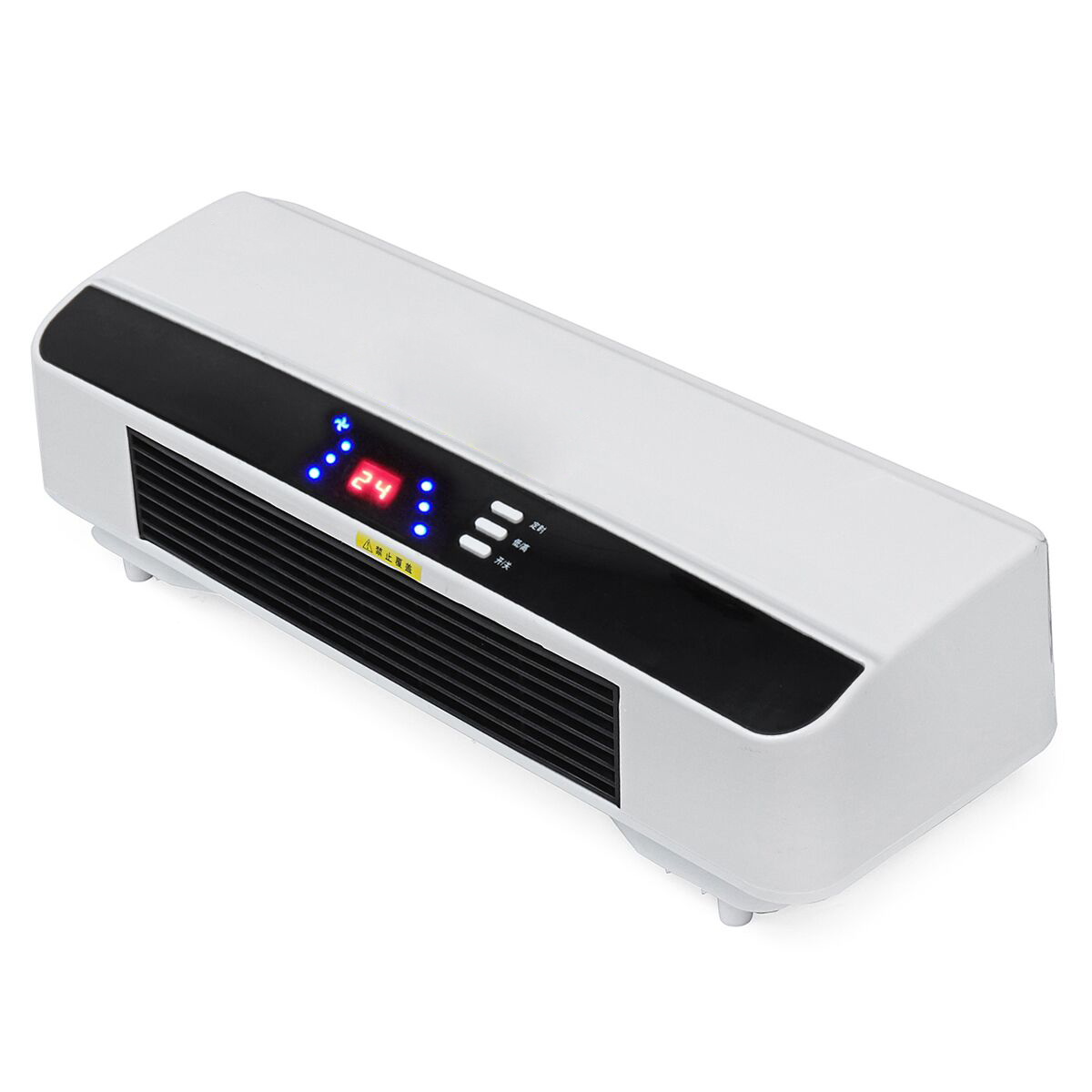 2000W 220V Wall Mounted Heater Timing Space Heating PTC Air Conditioner Dehumidifier
