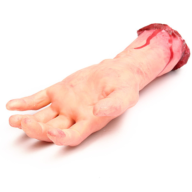 Halloween Bloody One Left Right Hand Party Decoration Horrid Scare Scene Random Delivery