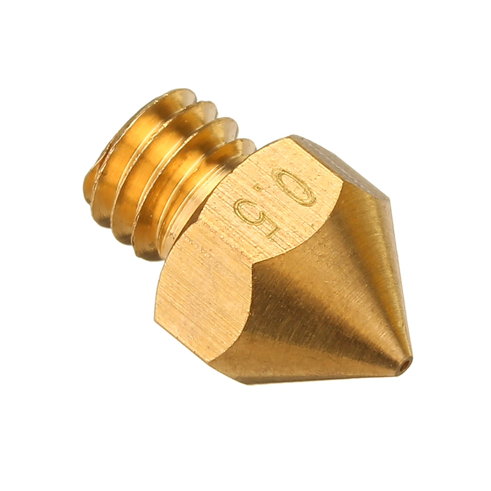 TRONXY® 0.2mm/0.3mm/0.4mm/0.5mm MK8 Copper Extruder Nozzle For 3D Printer Parts