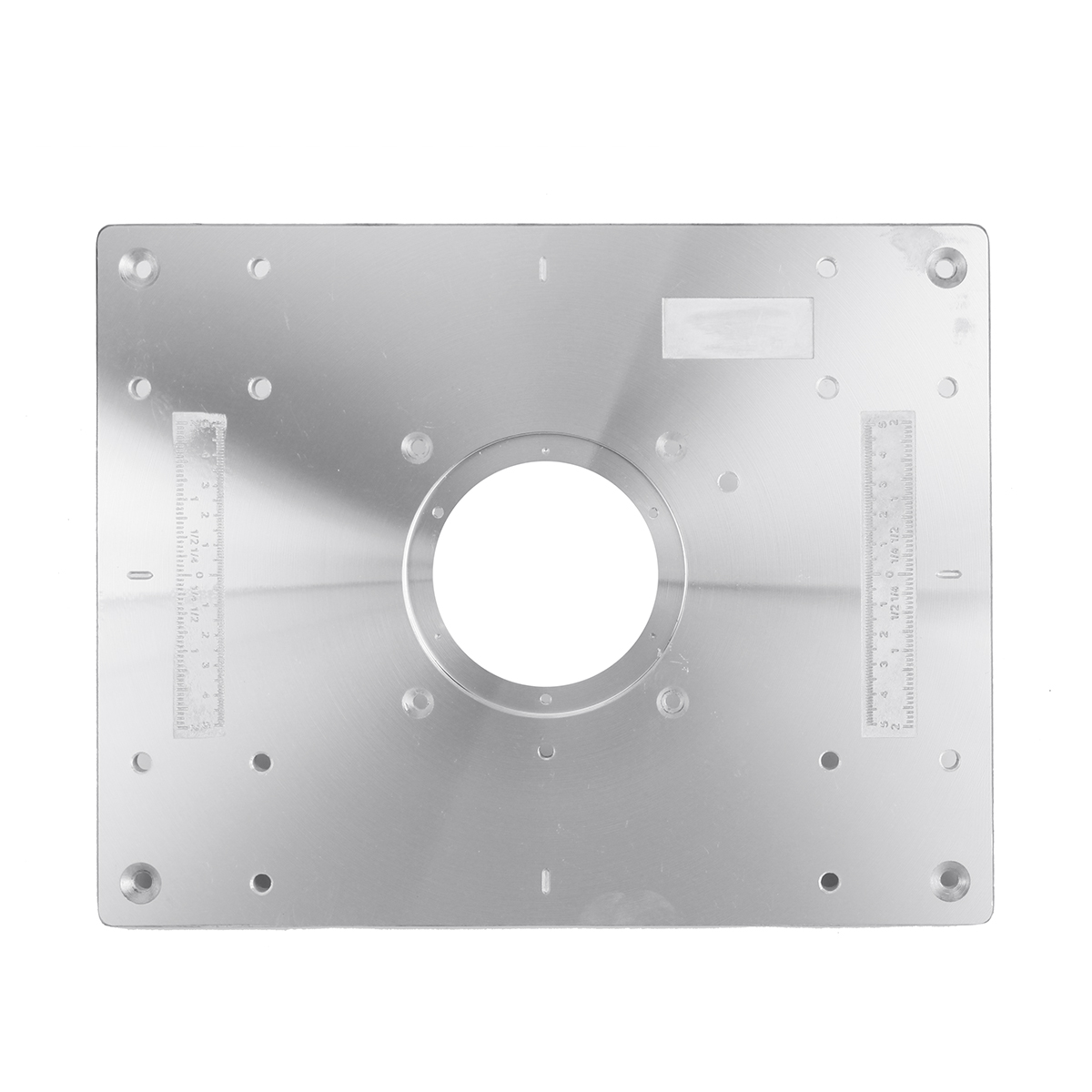 297mm x 235mm x 9mm Aluminium Alloy Router Table Insert Plate For Woodworking