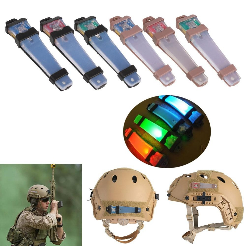 Hunting Tactical FMA Helmet Safety Light LED Flashing f