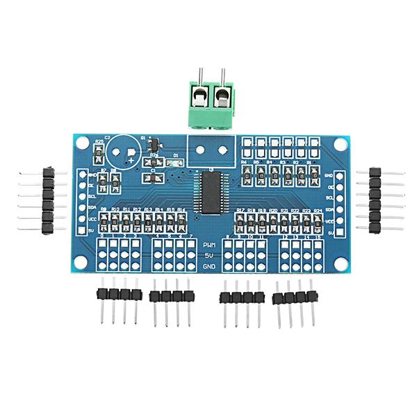 3pcs Arduino 16 Road PWM/Servo/Steering Gear Drive Plate Controller Module Robot IIC PCA9685